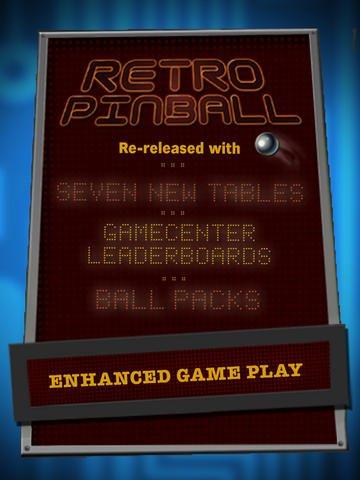 Retro Pinball screenshot