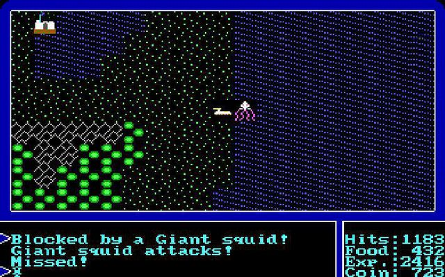 Ultima 1+2+3 screenshot
