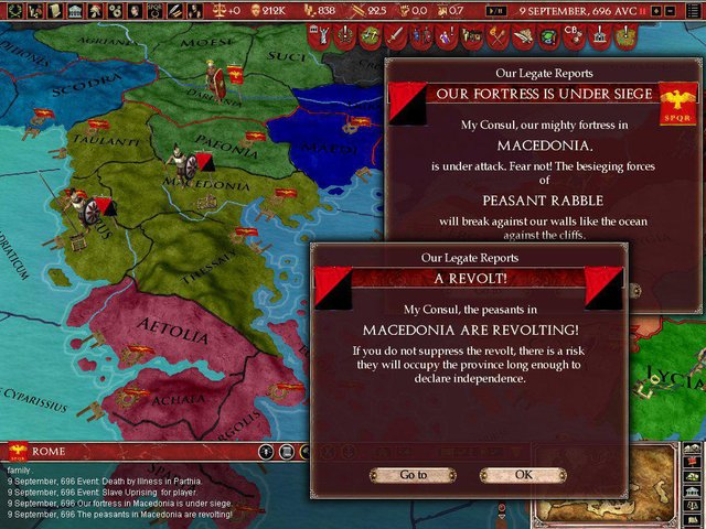 Europa Universalis: Rome - Gold Edition screenshot