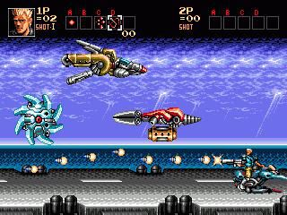 Contra: Hard Corps screenshot