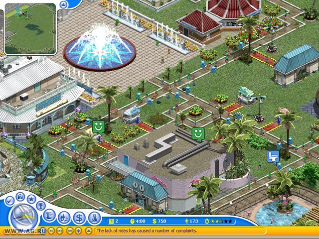 SeaWorld Adventure Parks Tycoon screenshot