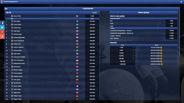 Soccer Manager 2015 screenshot