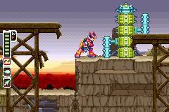 Mega Man Zero 2 (2003) screenshot