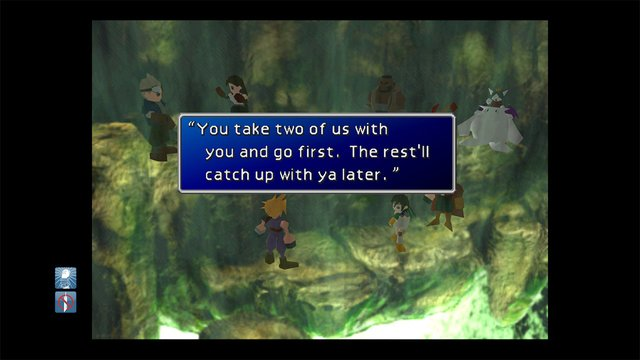 FINAL FANTASY VII (2009) screenshot