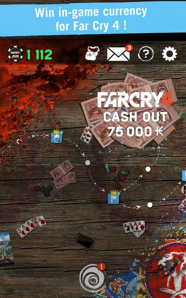 Far Cry 4 Arcade Poker screenshot