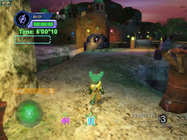 Blinx 2: Masters of Time and Space screenshot