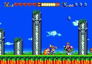 Sparkster: Rocket Knight Adventures 2 screenshot