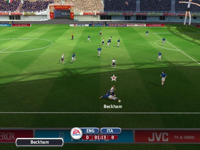 2002 FIFA World Cup screenshot