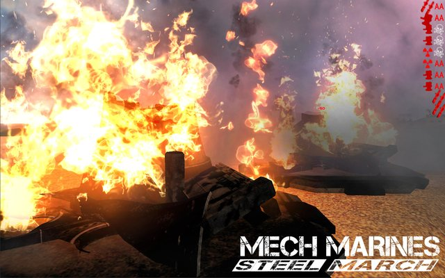 Mech Marines: Steel March screenshot