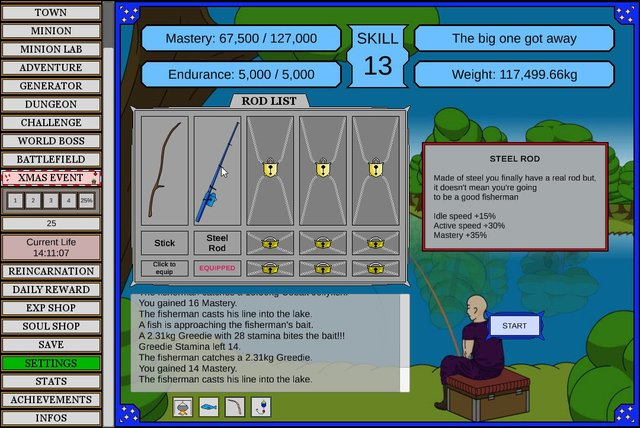 Wizard And Minion Idle screenshot