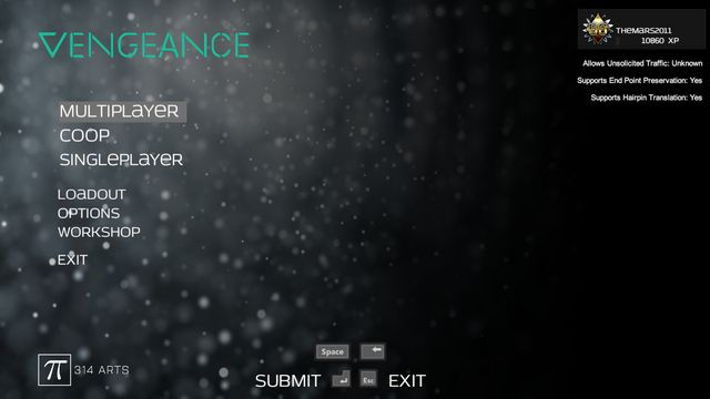 Vengeance screenshot