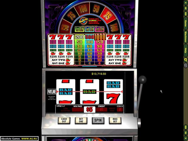 Slots from Bally Gaming screenshot