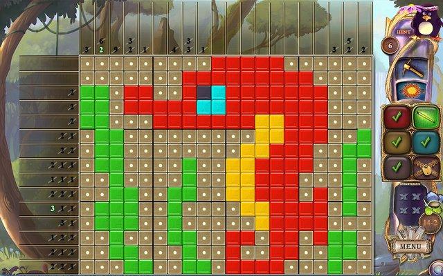 Fantasy Mosaics 27: Secret Colors screenshot