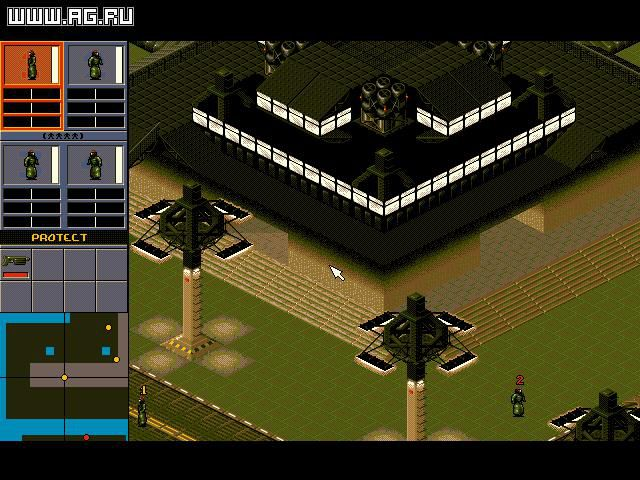 Syndicate (1993) screenshot