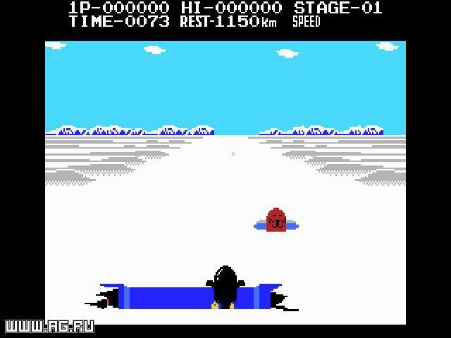 Antarctic Adventure screenshot