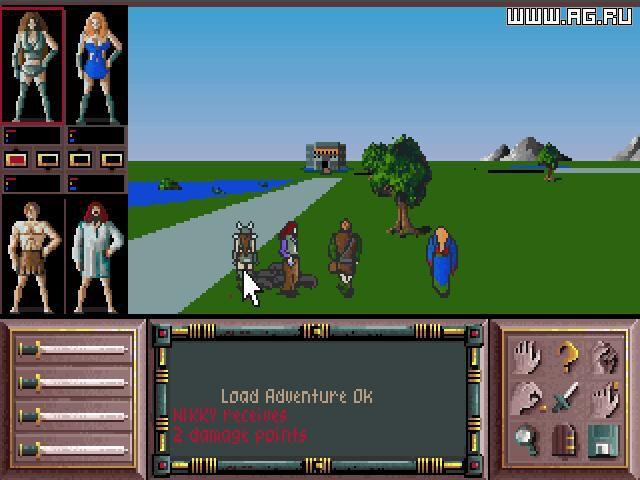Drakkhen screenshot