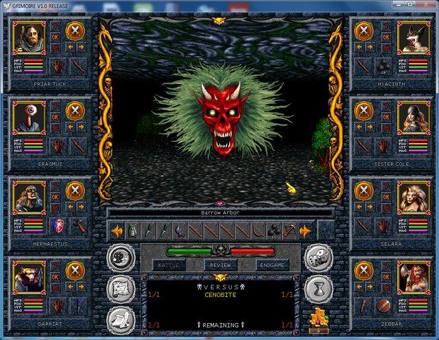 Grimoire: Heralds of the Winged Exemplar screenshot