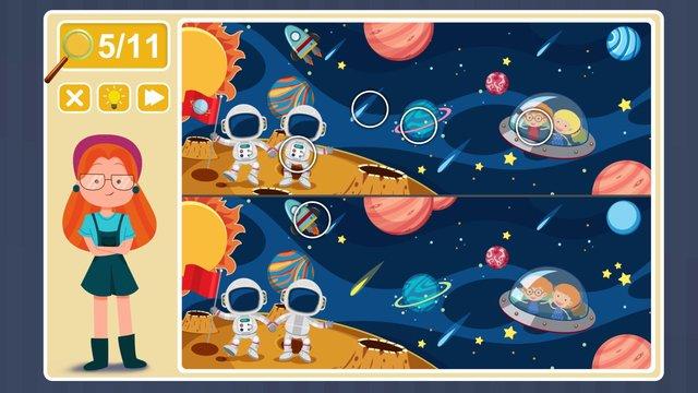 Viki Spotter: Space Mission screenshot
