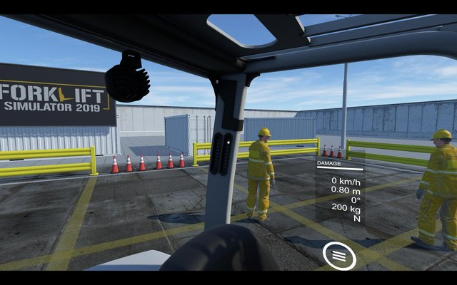 Forklift Simulator 2019 (itch) screenshot