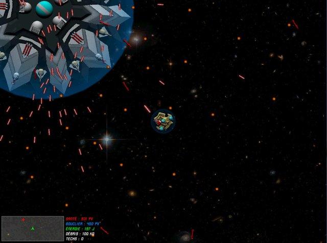 Captain Lycop: Invasion of the Heters screenshot