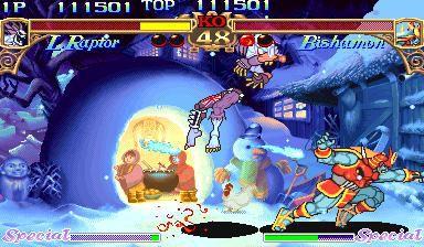 Darkstalkers: The Night Warriors screenshot