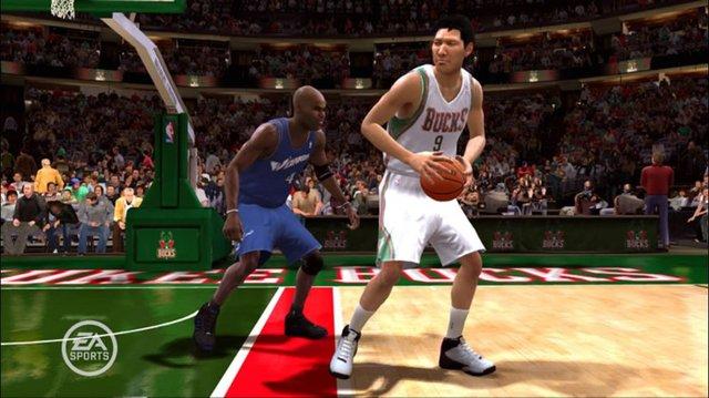 NBA LIVE 09 screenshot