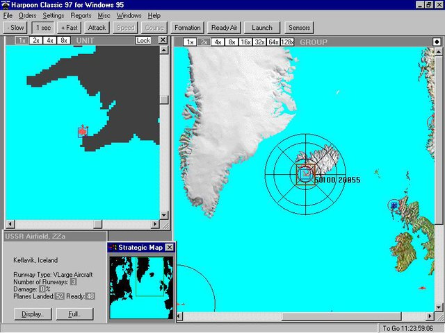 Harpoon Classic '97 screenshot