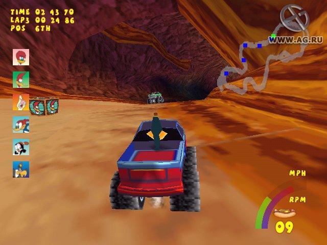 Woody Woodpecker Racing screenshot