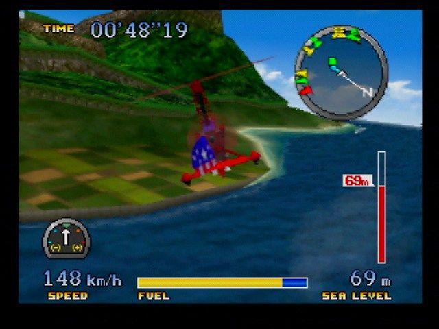 Pilotwings 64 screenshot