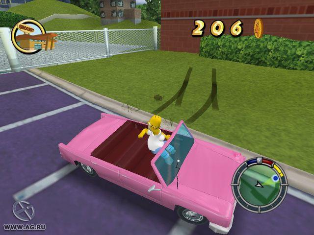 The Simpsons: Hit & Run screenshot