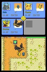 Pokémon Mystery Dungeon: Explorers of Sky screenshot