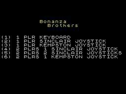 Bonanza Bros. (1990) screenshot