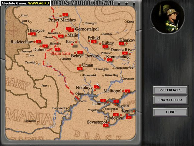 Steel Panthers: World at War - Lost Victories! screenshot