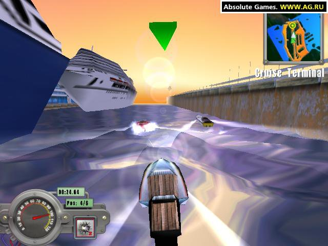 Miami Powerboat Racer screenshot