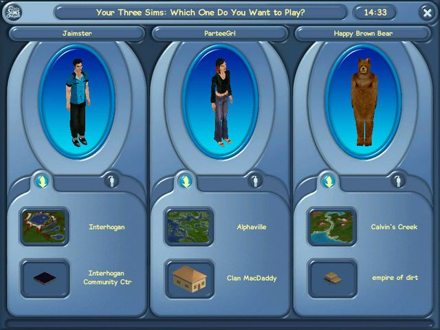 The Sims Online screenshot