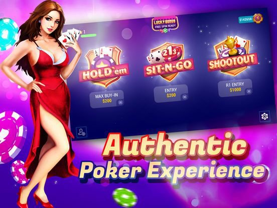 TEXAS HOLDEM POKER ONLINE+ screenshot
