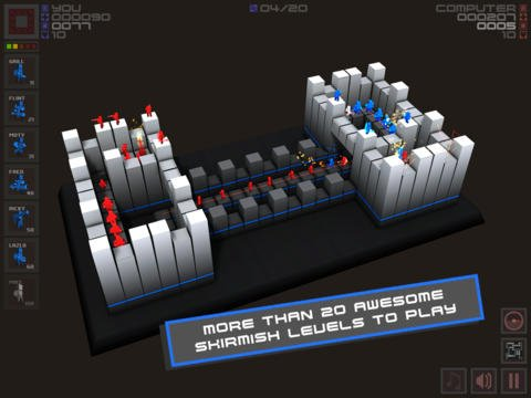 Cubemen screenshot
