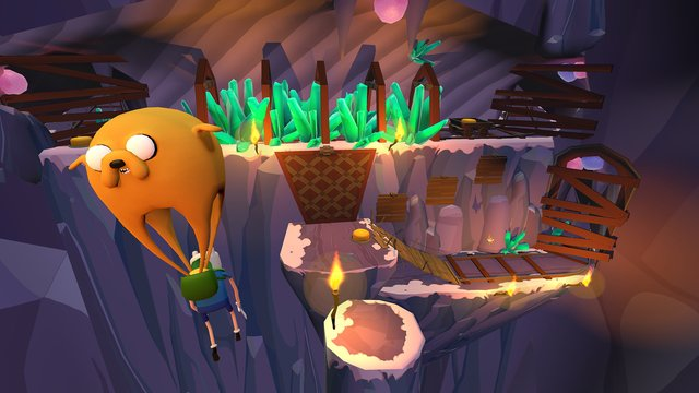 Adventure Time: Magic Man's Head Games screenshot