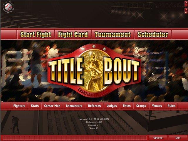 Title Bout Championship Boxing screenshot