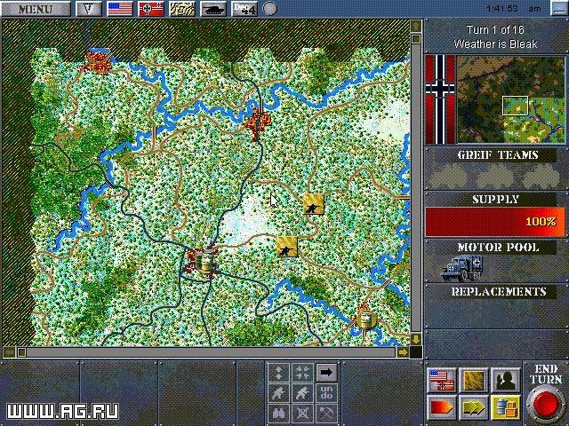 Decisive Battles of World War II: The Ardennes Offensive screenshot