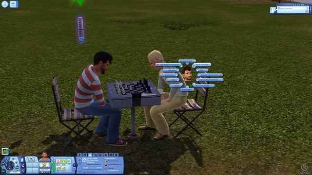 Sims 3: Шоу-бизнес, The screenshot