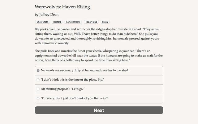 Werewolves: Haven Rising screenshot