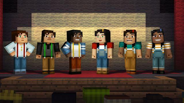 Minecraft: Story Mode - A Telltale Games Series screenshot