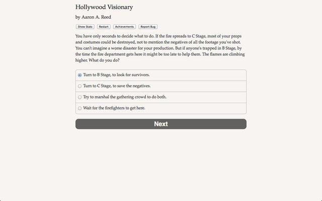 Hollywood Visionary screenshot