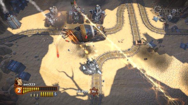 Gatling Gears screenshot
