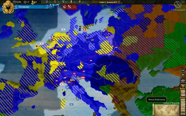 Европа 3 screenshot