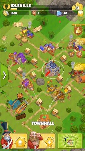 Idle Kingdom Builder screenshot