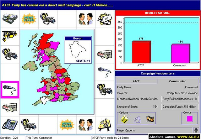 General Election screenshot