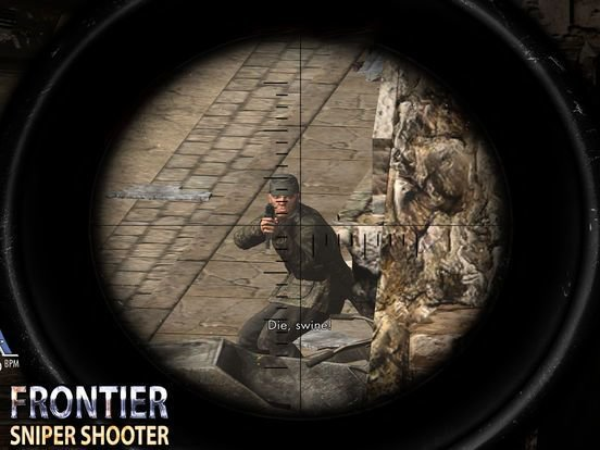 Frontier Sniper Shooter: Frontline Army Commando screenshot