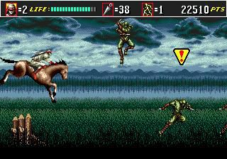 Shinobi III: Return of the Ninja Master (1993) screenshot